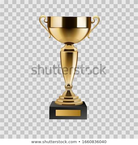 золото Кубок чемпион иллюстрация вектора формат Сток-фото © orensila