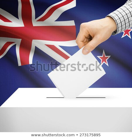 Ballot box New Zealand Stock photo © Ustofre9