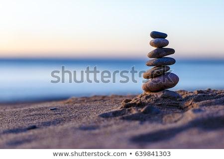kayalar · sahil · kaya · plaj · doğa · deniz - stok fotoğraf © Lio22