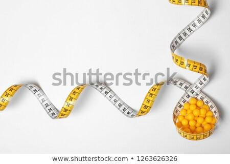 şerit · metre · hapları · sağlık · sanayi · renk - stok fotoğraf © caimacanul