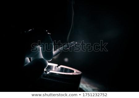 tok · küllük · yalıtılmış · beyaz · duman · ilaçlar - stok fotoğraf © jfjacobsz