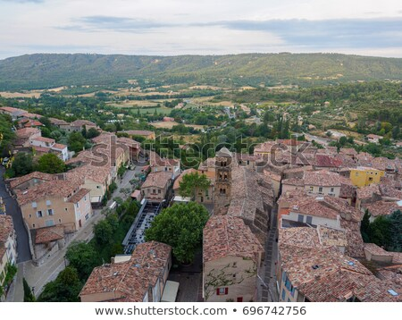Overviewing Moustiers-Sainte-Marie stock photo © pumujcl