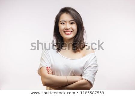 Gorgeous young Vietnamese woman Stock photo © smithore