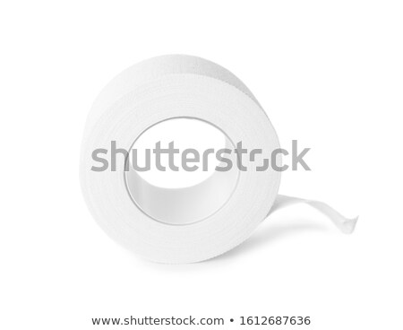 Adhesive tape on the white background Stock photo © ozaiachin
