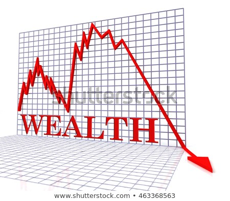 Declining Wealth Stock photo © Lightsource