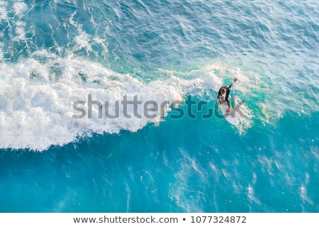 Blue surfboard Stock photo © jeayesy