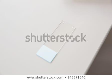 Folie Schreibtisch Labor medizinischen Labor Stock foto © wavebreak_media