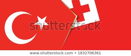Turkey and Tonga Flags  Stock photo © Istanbul2009