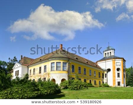Palota Csehország épület utazás építészet Európa Stock fotó © phbcz