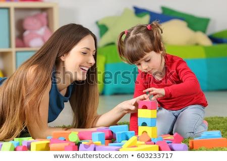 母親 · 娘 · インタラクション · 子 · 愛 · 時間 - ストックフォト © kentoh