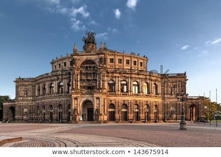 semper opera from outside in dresden stock photo © meinzahn