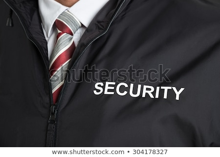 close up of security guard stock photo © andreypopov