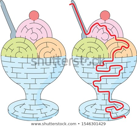 Ice Cream Maze Stock photo © Undy