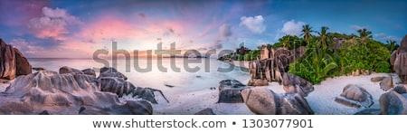 Panoramic Lagoon Stock photo © kwest