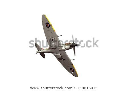 World War 2 Fighter Plane Spitfire Retro Stock photo © patrimonio