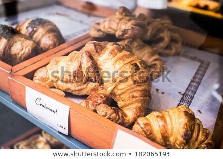 Pan supermercado frescos alimentos tienda Foto stock © Digifoodstock