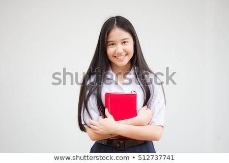 アジア · プライマリー · 学生 · 運ば · 学校 - ストックフォト © yongtick