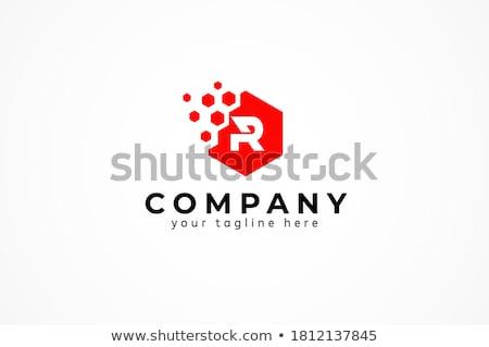 雲 六角形 デザイン アイコン すごい ストックフォト © user_11138126