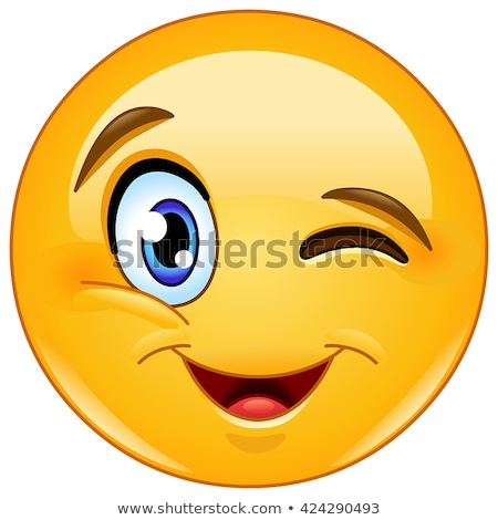 Friends laughing with a message. Emoji face. Stock photo © wavebreak_media