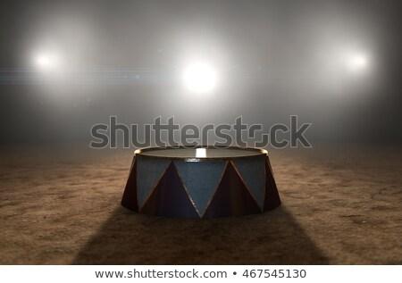 Circo anello podio rendering 3d classico Foto d'archivio © albund