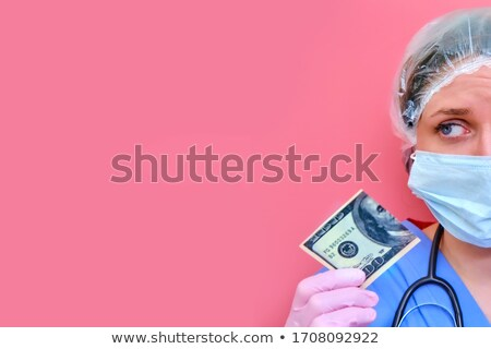 Nursed Torn US Dollar Stock photo © albund
