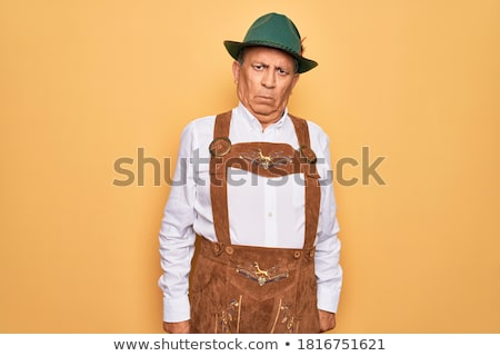 Stock photo: Emotions and Oktoberfest.