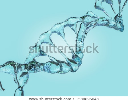 3D · moléculas · água · 3d · render · ilustração · modelo - foto stock © user_11870380