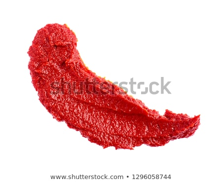 Tomato paste . Tomatoes sauce Stock photo © Masha
