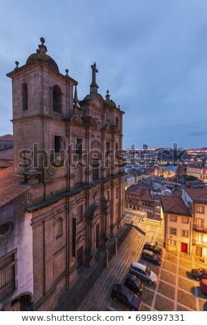 старый · город · Португалия · реке · вино · здании · город - Сток-фото © benkrut