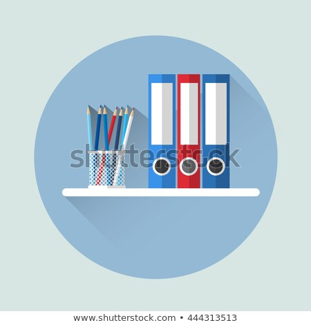 Correspondence Concept on Folder Register. Stock photo © tashatuvango
