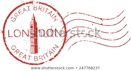 Postmark from London Stock photo © 5xinc