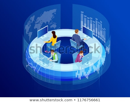 Global Business Center Stock photo © Lightsource
