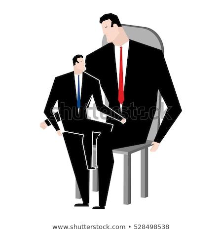 Empresário filho negócio família patrão pai Foto stock © MaryValery