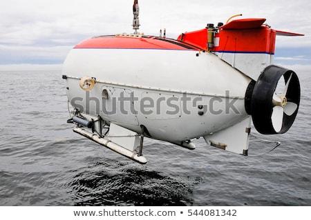 подводная лодка подводного поиск красочный иллюстрация Сток-фото © lenm