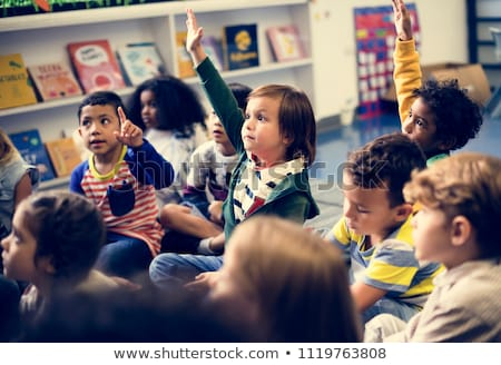 Children in a classroom Stock photo © IS2