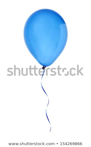 Inflatable Flying Balloons Blue Purple Yellow Red Stock photo © robuart