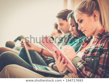 genç · öğrenci · sınavlar · ev · kitap · okul - stok fotoğraf © elnur