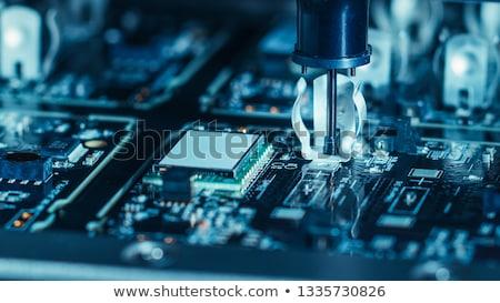 rés · processzor · fekete · magas · döntés · internet - stock fotó © andreypopov