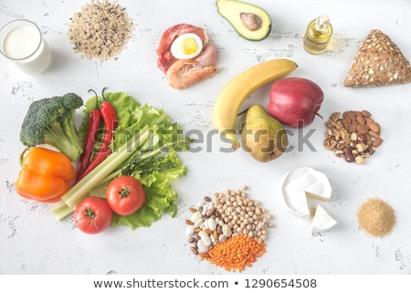 Food for planetary health diet Stock photo © Alex9500