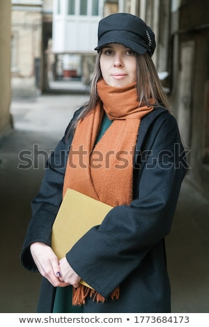 Young beautiful woman running in urban enviroment Stock photo © boggy