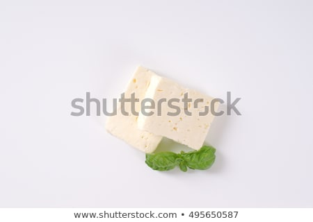 新鮮な フェタチーズ 務め 木板 食品 羊 ストックフォト © grafvision