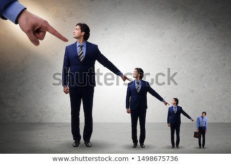 Businessmen blaming each other for failures Stock photo © Elnur