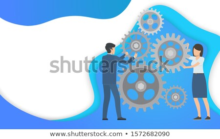 Interactive, Team Building Importance in Business Stock photo © robuart