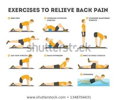 Stok fotoğraf: Exercise For Back