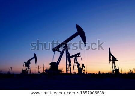 нефть области декораций Солнечный промышленности Сток-фото © prill