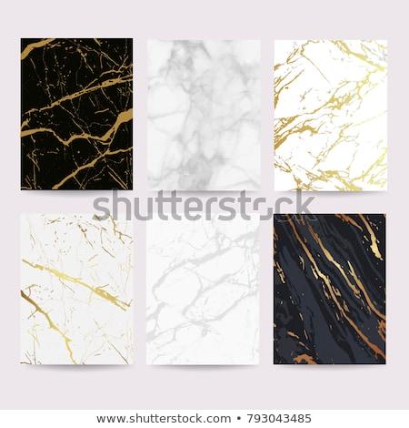Szett márvány kő textúrák különböző természet Stock fotó © boggy