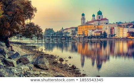 Kilátás Németország történelmi központ erőd ház Stock fotó © borisb17