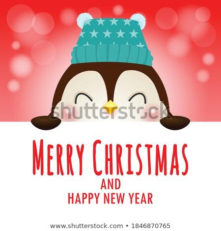 サンタクロース · 陽気な · クリスマス · 孤立した · 実例 · 赤ちゃん - ストックフォト © doomko