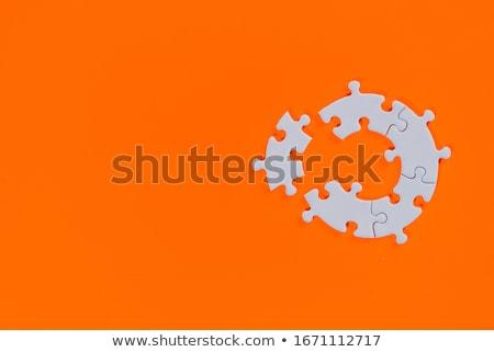 blue jigsaw stock photo © cidepix