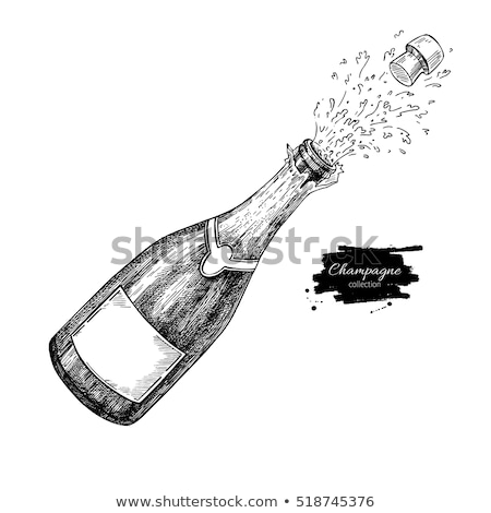 шампанского бутылку взрыв открытие фары Сток-фото © unikpix